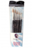 PXP 6 brushes Round profigrime synthetic