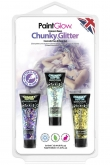 Blister set chunky glitter face & body gel Unicorn Tears
